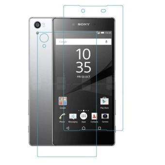 Bộ 1 miếng dán kính cường lực 2 mặt Sony Xperia Z1 Glass 2 mặt trước sau-Hàng nhập khẩu