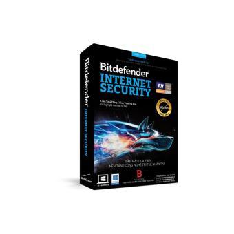 Phần mềm diệt virus Bitdefender Internet Security (1 PC/1 năm)