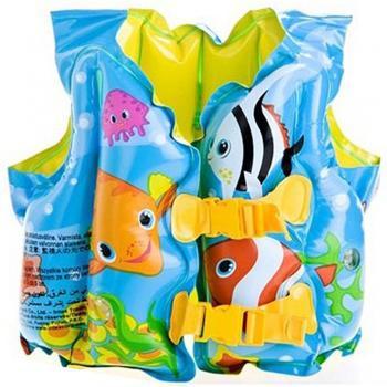 Áo phao bơi cho bé hình cá Intex 59661