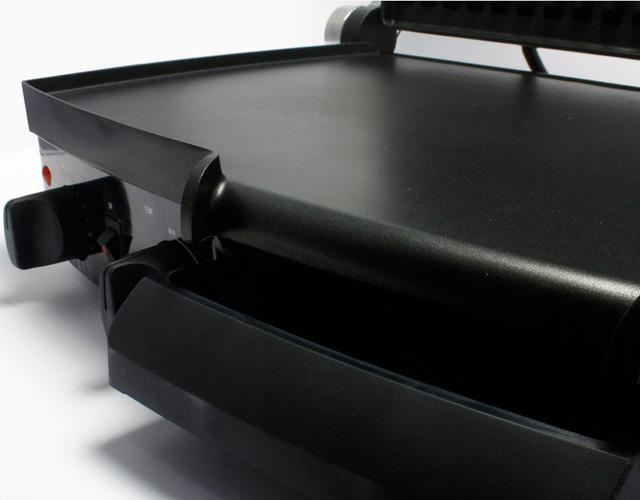 Kẹp nướng điện đa năng Tiross có hẹn giờ, công suất lớn, thân inox