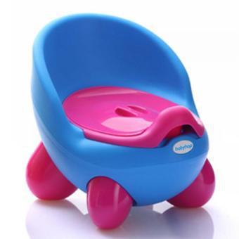Bô vệ sinh cho bé (Hồng phối xanh lá)