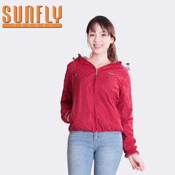 Áo gió có mũ thời trang Sunfly - SCA4165