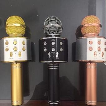 Micro hát karaoke Bluetooth 3in1 kèm loa WS-858 \