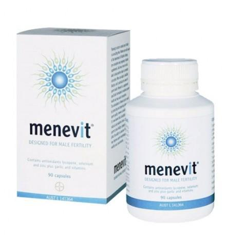 Thuốc Menevit giúp cải thiện và nâng cao chất lượng tinh trùng (90 viên)
