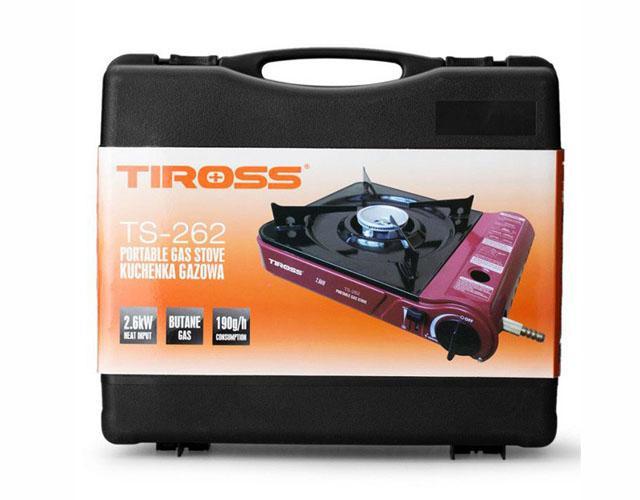 Bếp gas du lịch Tiross (bình gas du lịch)