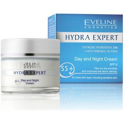 Kem dưỡng ngày đêm Hydra Expert 55+