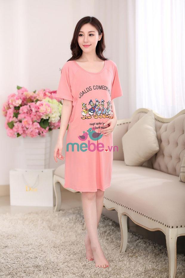 Váy bầu kết hợp cho con bú Donald MB6601