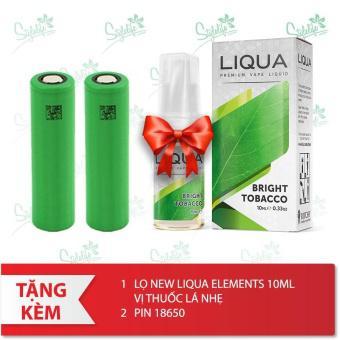 Thân máy iJOY Maxo 315w (Đen) + Tặng 1 lọ tinh dầu New Liqua 10ml vị Quả mâm xôi + 2 pin 18650