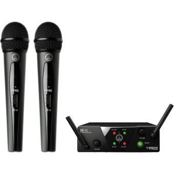 Micro không dây AKG WMS40 MINI DUAL VOCAL