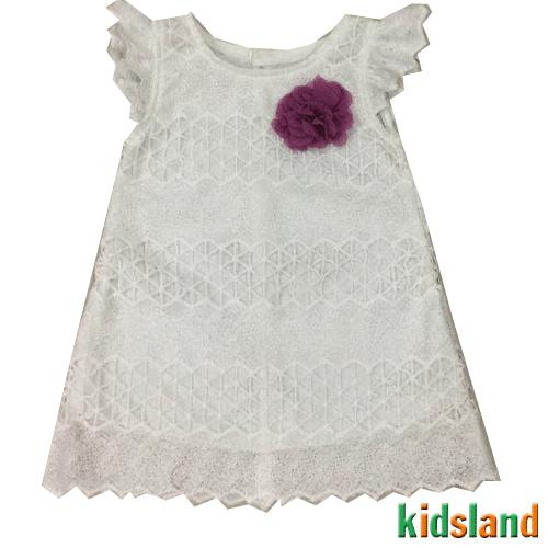 Đầm voan trắng tay tiên AD177