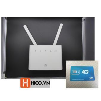 Bộ phát wifi Huawei B310 tốc độ 4G LTE 150Mb, hỗ trợ cổng Lan + Sim 4G Viettel 3.5GB x 12 tháng
