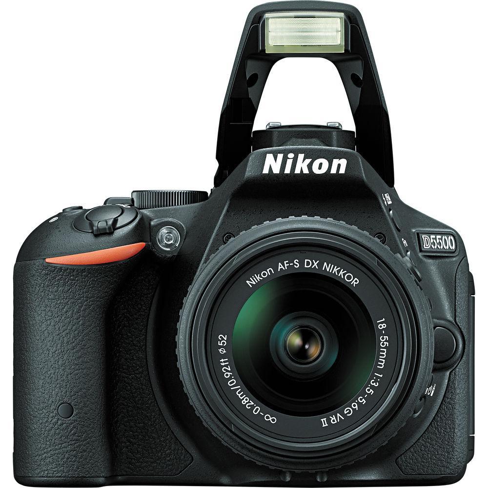 Nikon D5500 + AF-S 18-55 f/3.5-5.6 VR II (chính hãng)