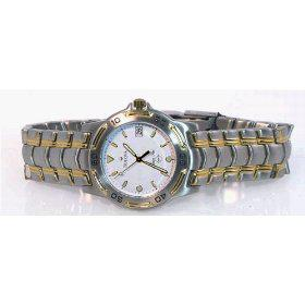 BULOVA Men's Marine Star Two-tone All Stainless-Steel Watch with White Dial. Model: 70247