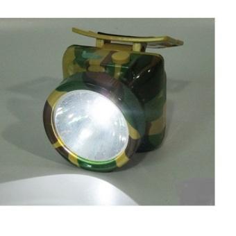 Đèn pin sạc đội đầu bóng led 5W siêu sáng loại lớn (xanh)