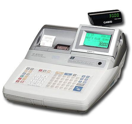 Máy tính tiền Casio Model TE-3000S