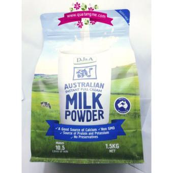 Sữa tươi dạng bột nguyên kem DJ&A - Úc - 1.5kg