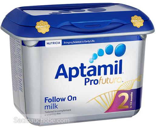 Sữa Aptamil Profutura 2 (Anh) (800g) (6-12 tháng tuổi)