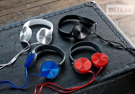 Tai nghe Sony MDR-XB450AP Màu Đỏ