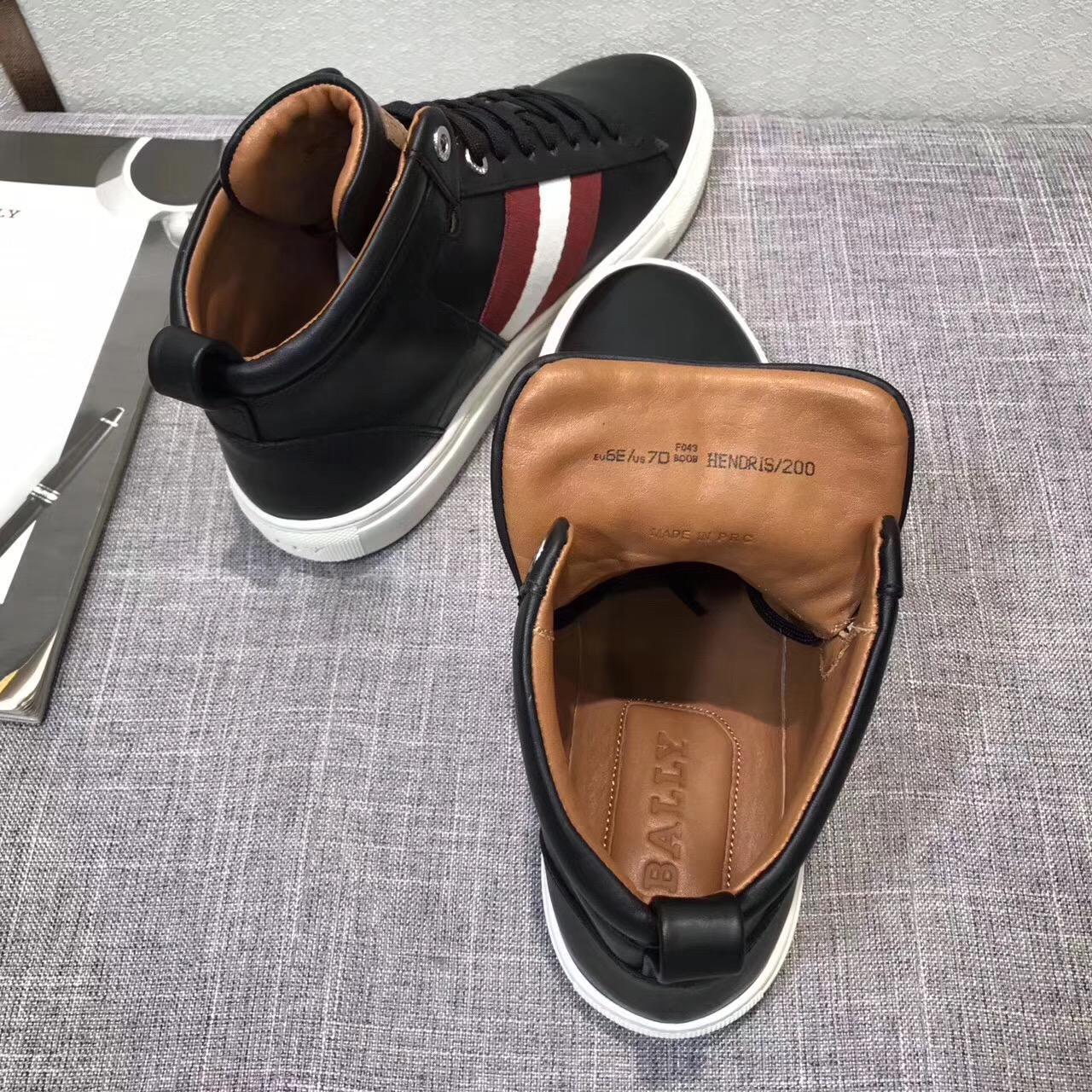 giày nam cao cổ Bally 0106