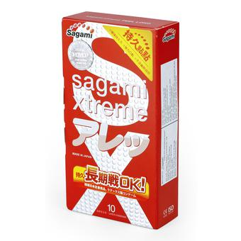 Bao cao su có gai Sagami Xtreme Feel Long 10 bao