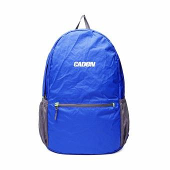 New 35L Foldable Waterproof Nylon Camping Travel Backpack Rucksack Bag Day Packs Blue - intl