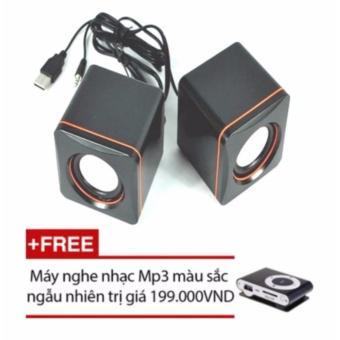 Loa di động 101C (Đen) + Tặng máy nghe nhạc Mp3