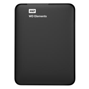 Ổ cứng di động WD Elements 1TB (Đen)(…)