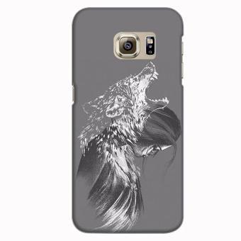 Ốp lưng nhựa dẻo cho Samsung Galaxy S7 Edge iCase Color (in 3D)