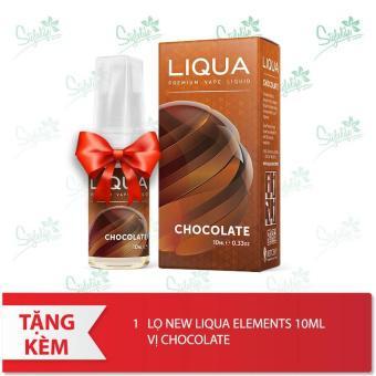 Buồng đốt Wotofo Lush Plus RDA (Black) tặng 1 lọ tinh dầu New Liqua 10ml vị Thuốc lá nhẹ
