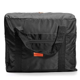 Big Travel Foldable Luggage Bag Clothes Storage Organizer Carry-On Duffle Bag Black Fashion - intl