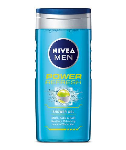 Sữa tắm nam dạng Gel Nivea Men Power Refresh 3-in-1