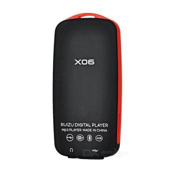 Máy Nghe Nhạc Lossless Bluetooth Ruizu X06 (đen phối đỏ)