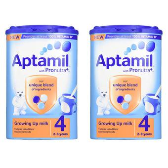 Bộ 2 sữa Aptamil Anh số 4 800g