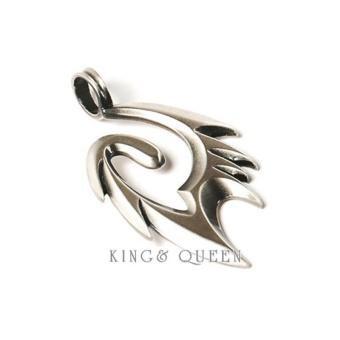 Mặt dây nam bạc Trang Suc King & Queen