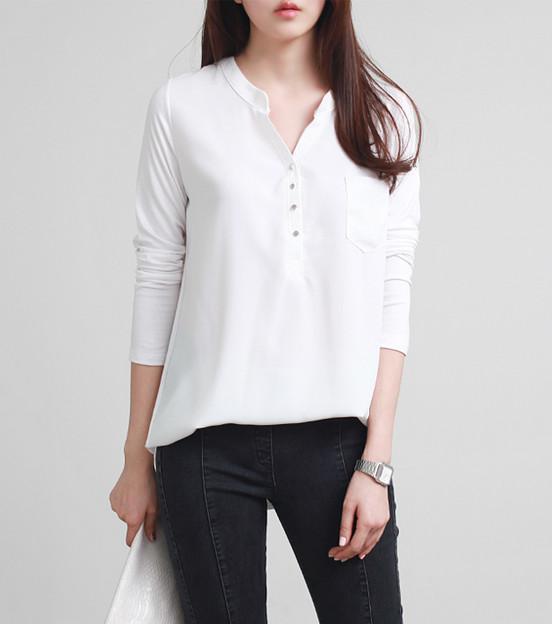 Áo kiểu nữ Hàn Quốc BL26152