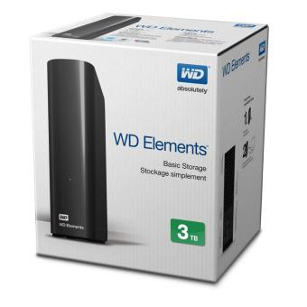 Ổ cứng WD Element 3.5\ - 3TB Desktop Drives