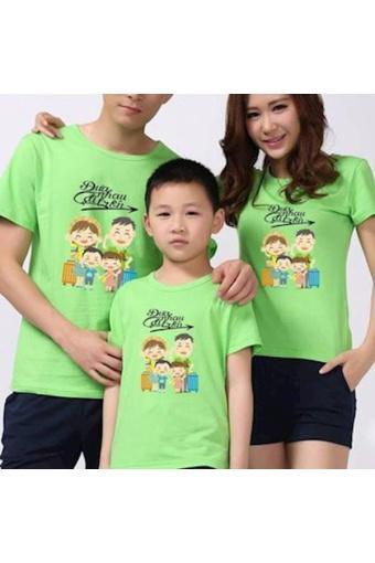 Áo gia đình CAO CẤP- đặt theo yêu cầu - Vàng