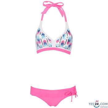 Đồ bơi 2 mảnh Lan Hạnh màu hồng - 23056