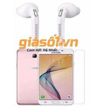 Bộ 1 tai nghe Samsung S7 và 1 miếng kính cường Glass cho Samsung Galaxy Note 3 Neo