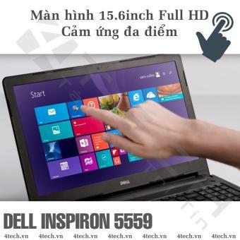 DELL INSPIRON 5559 I5-6200U 2.3G, RAM 4G, HDD 1TB, VGA R5-335M 2G, 15.6'HD  Laptop Ultrabook