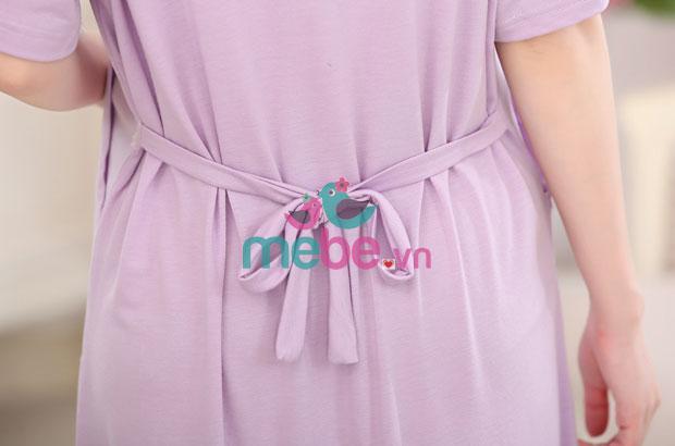 Váy bầu kết hợp cho con bú Love Pink MB6602