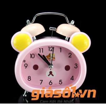 Đồng hồ báo thức để bàn cho bé 17051 (Hồng)
