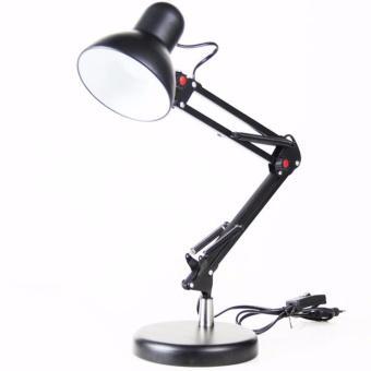 Đèn bàn thông minh tặng kèm dụng cụ kẹp bàn (Đen)