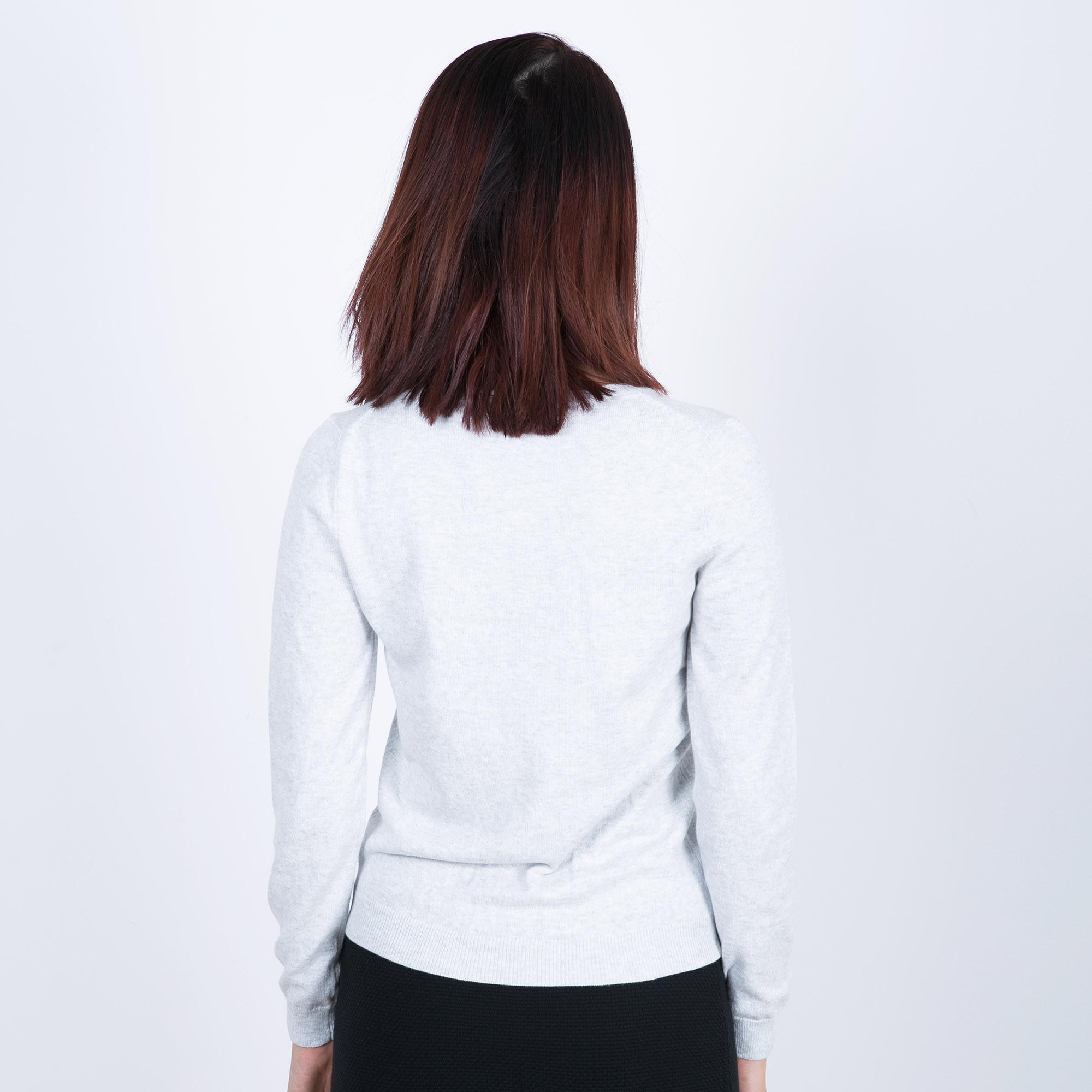 Áo len nữ cổ tròn