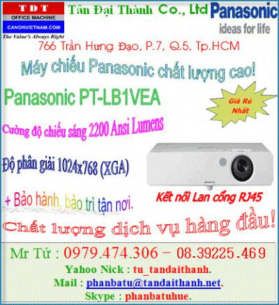 Máy Chiếu  PANASONIC PT LB1VEA