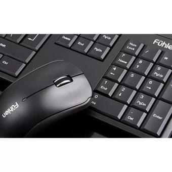 Bộ bàn phím và chuột không dây Fuhlen A120G (Đen)