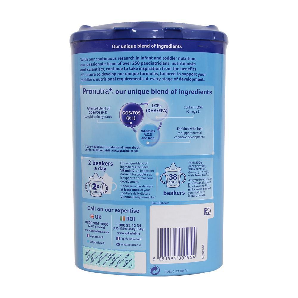 Sữa Aptamil Anh số 4 - 800g (2 - 3 tuổi)