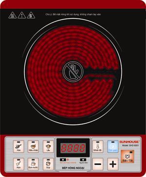 Bếp hồng ngoại  Sunhouse SHD6001