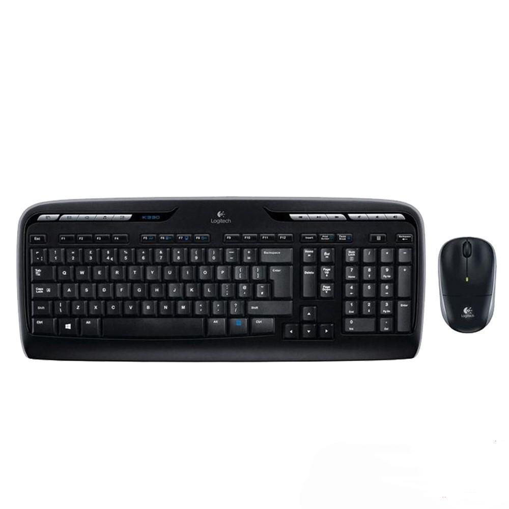 Bộ bàn phím & chuột không dây Logitech MK330