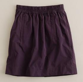 Girls' taffeta jump skirt